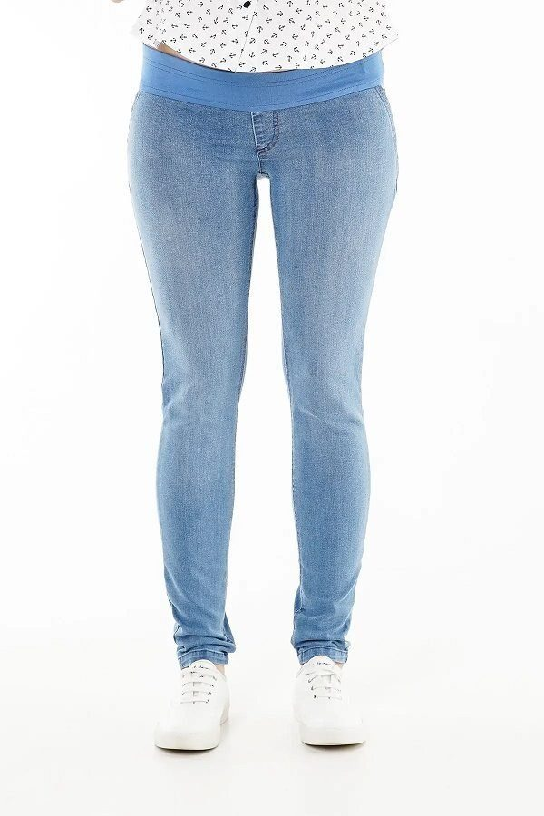 Джинсы для беременных 1095691-1 синий варка 1