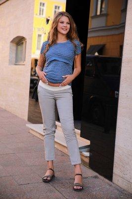 Брюки для беременных 1153204 серый