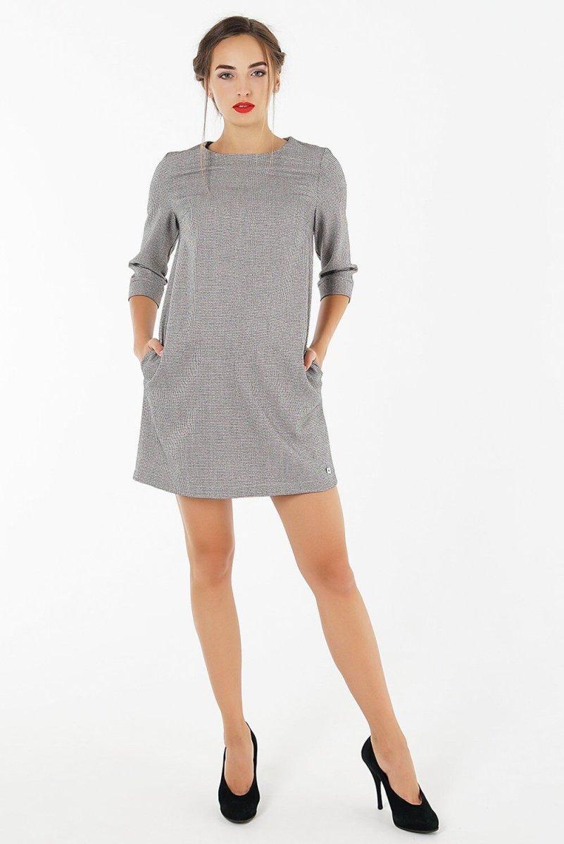 Сукня для вагітних 1285118 сірий
