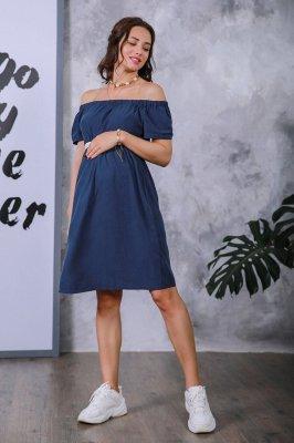 Плаття для вагітних 4169616 синій