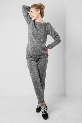 Спортивные штаны для беременных 1754-0002 серые