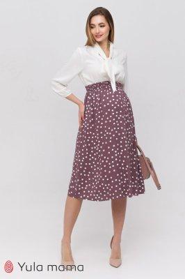 Стильная юбка для беременных Edna капучино