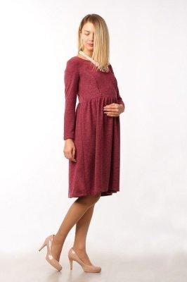Платье В мягких объятьях красное