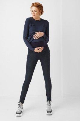 Лосины для беременных 1810-0464 синие