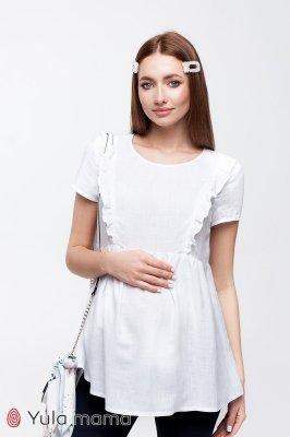 Блузка для беременных и кормящих Alicante белый