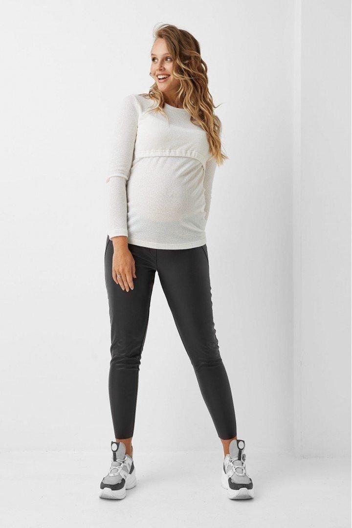 Кофта для беременных 1983-1214 белая