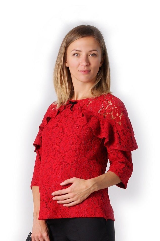 Блуза для беременных и кормления Яркий праздник