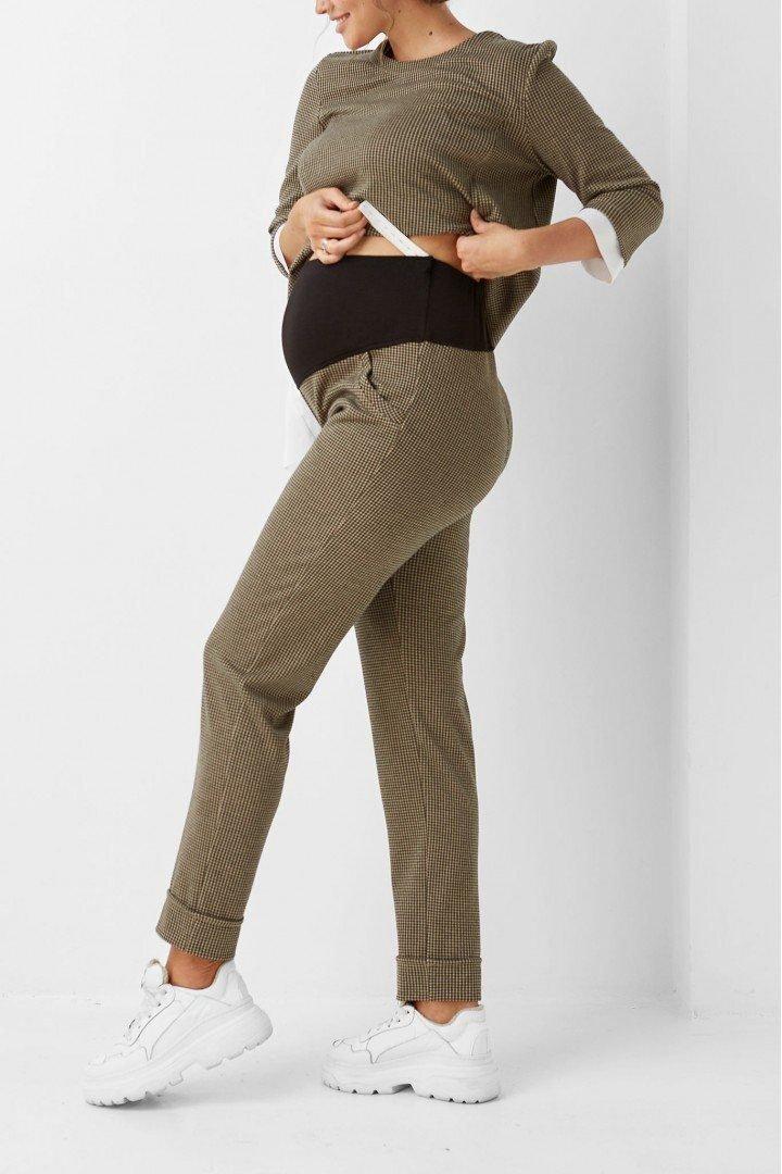 Штаны для беременных 1909-1203 коричневые