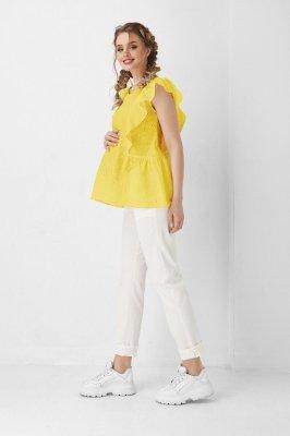 Блуза для беременных и кормящих 1948 1100 желтая