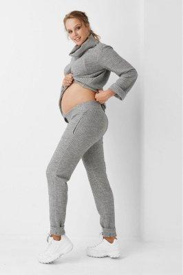 Штаны для беременных 1978-1218 серые