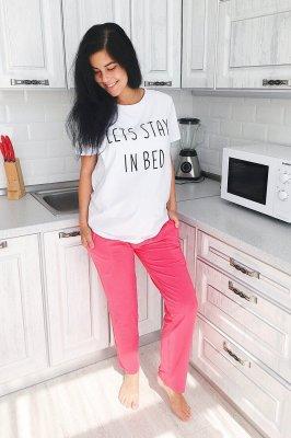 Домашні штани для вагітних 3110041 коралові
