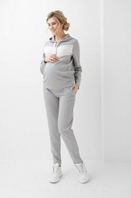Штани для беременных 2006 1360 серые