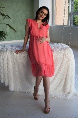 Платье для беременных 2062 0000 коралловый
