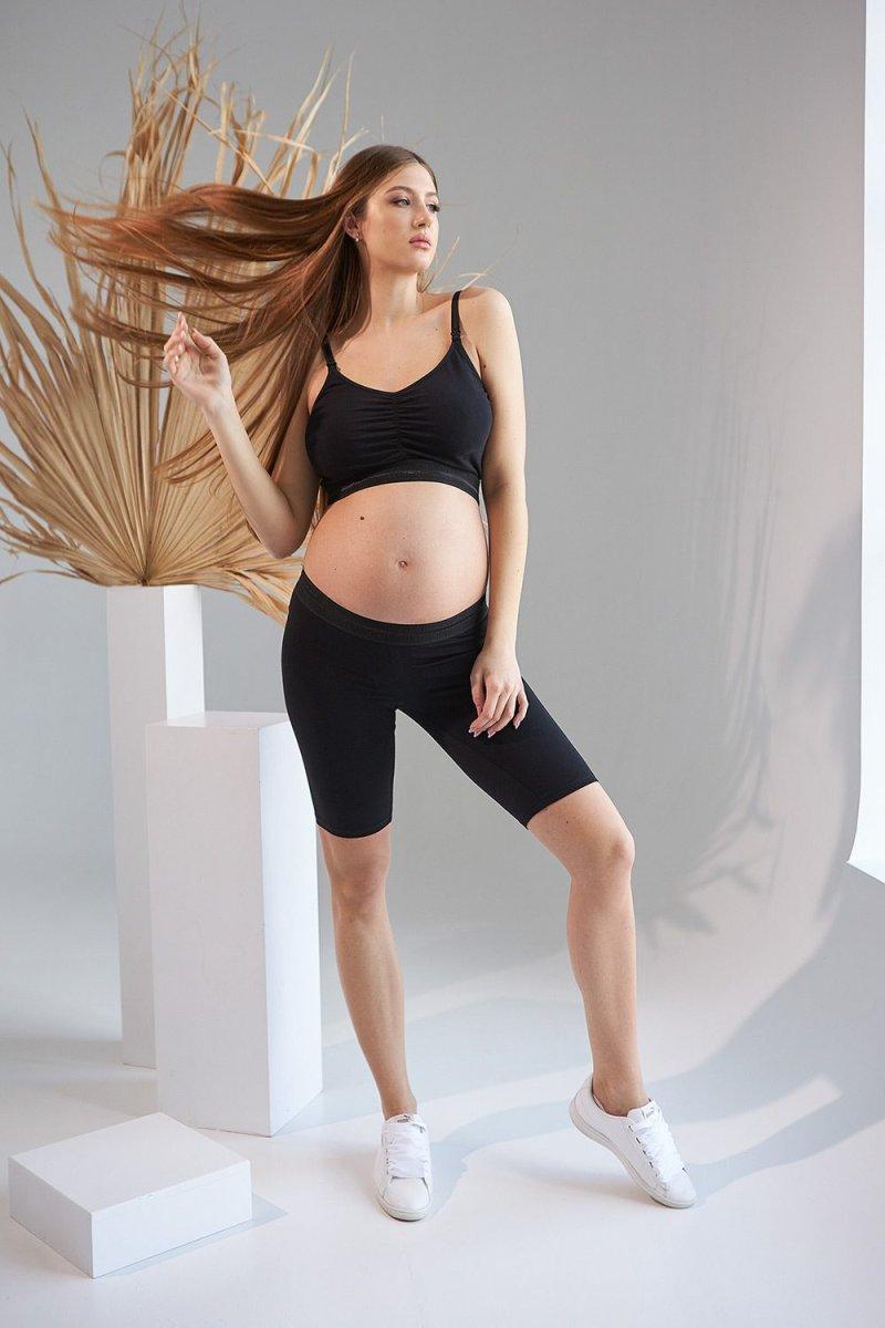 Велосипедки для беременных 2161 1533 черный