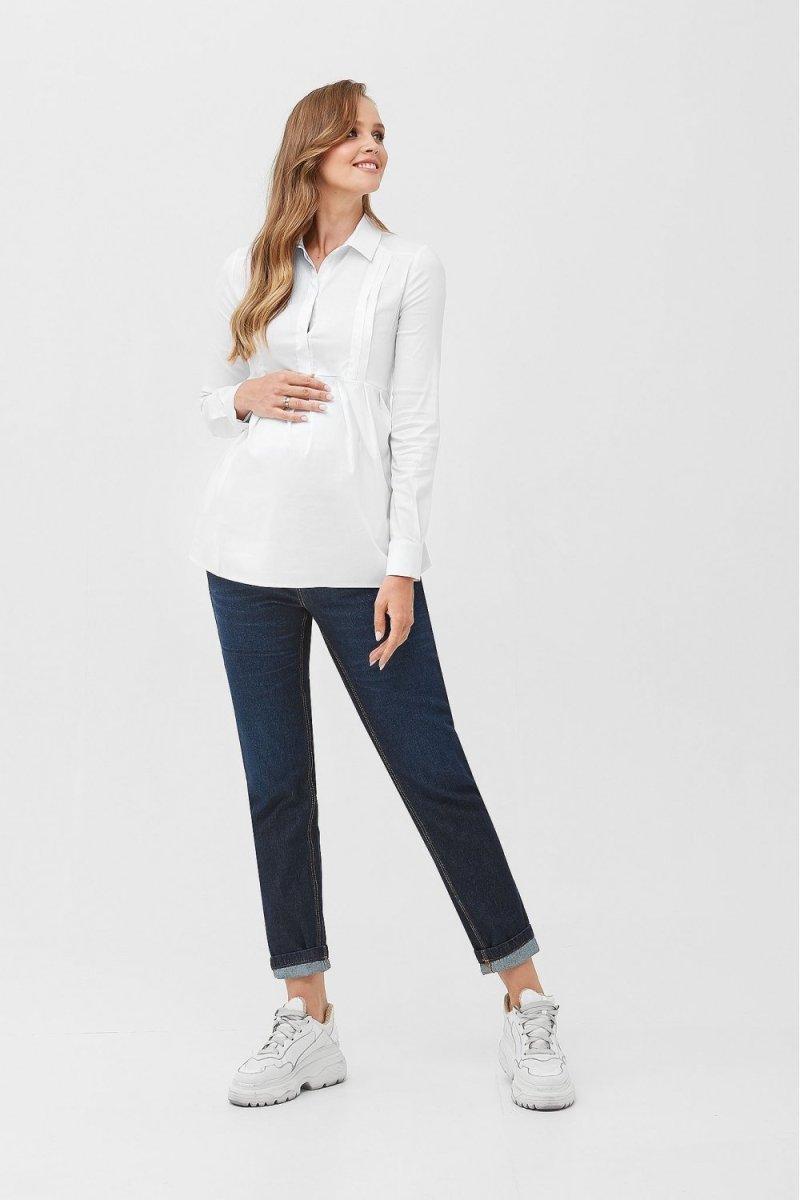 Сорочка для вагітних і годуючих 2078 0173 білий
