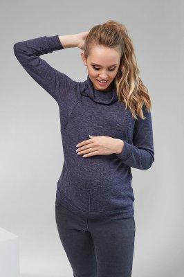 Кофта для беременных и кормящих 2102 0001 синий