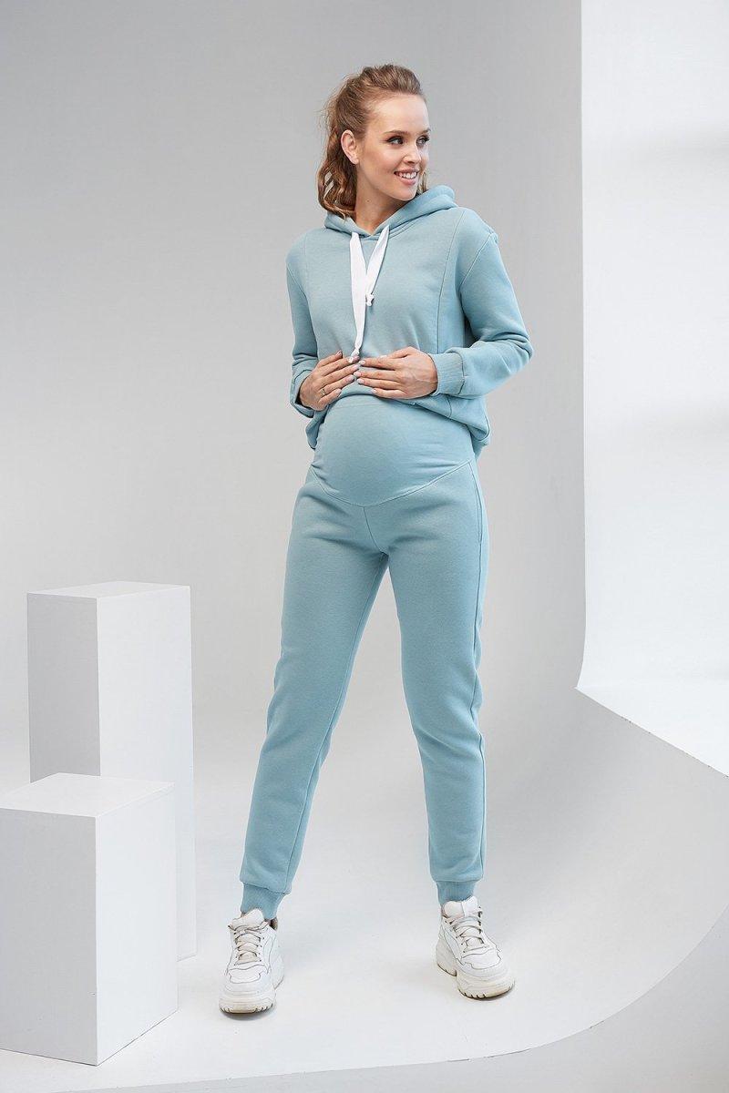 Спортивные штаны 2106 1453 сине-зелёный