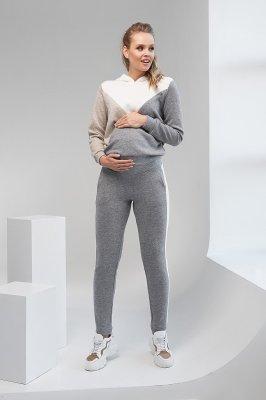 Штаны для беременных 2107 1093 серый