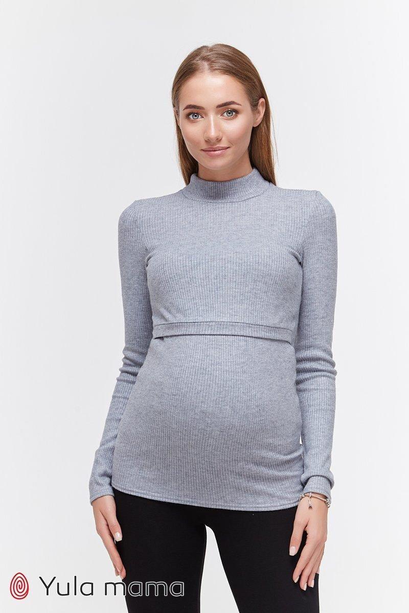 Гольф для беременных и кормящих Lecie warm джинс