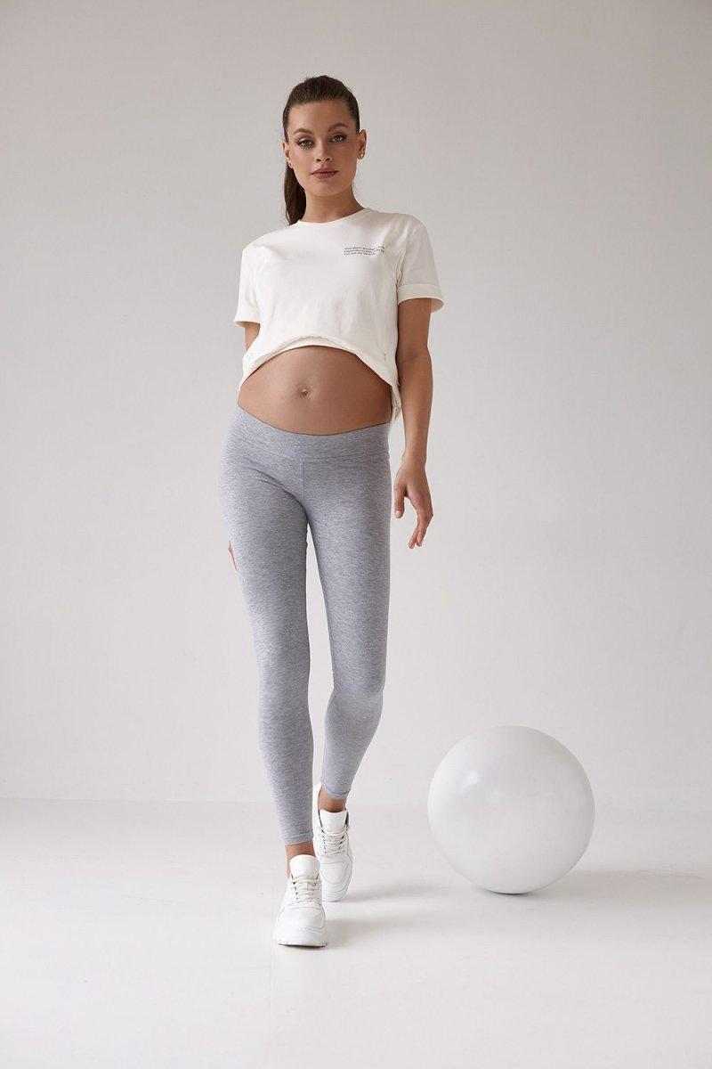 Лосины для беременных 2118 1361 серый