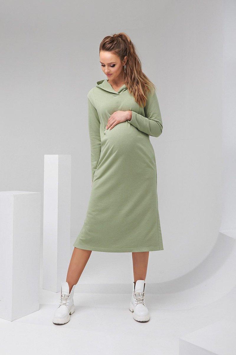 Платье-худи 2126 1452 фисташковый