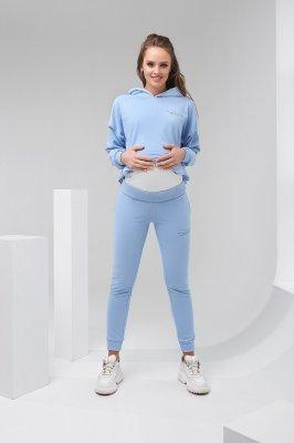 Штаны для беременных 2136 1500 голубой
