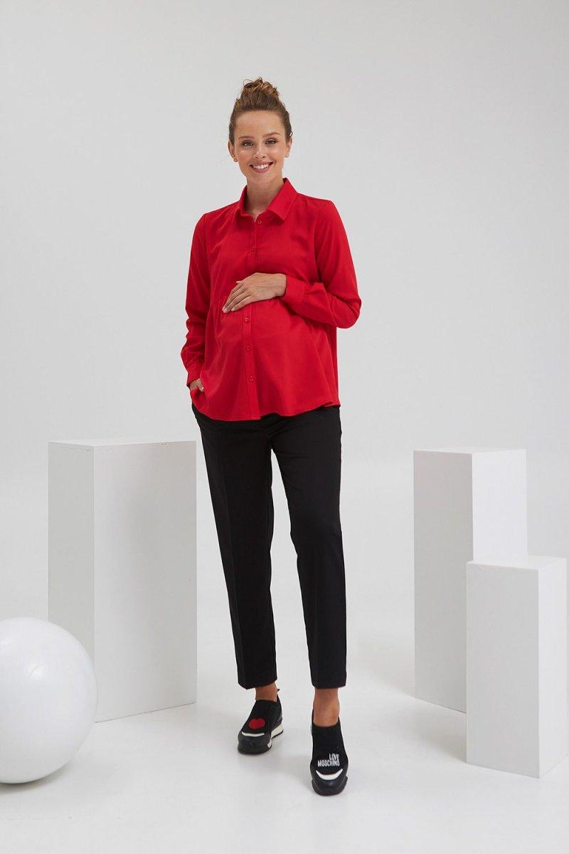 Рубашка для беременных 2138 1519 красный