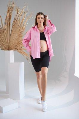 Рубашка для беременных 2151 1526 розовый