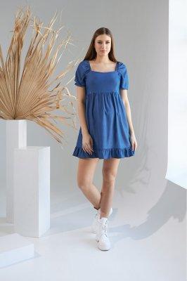 Платье для беременных и кормящих 2153 0000 синий