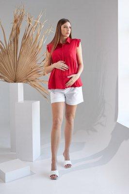 Рубашка для беременных 2157 1519 красный