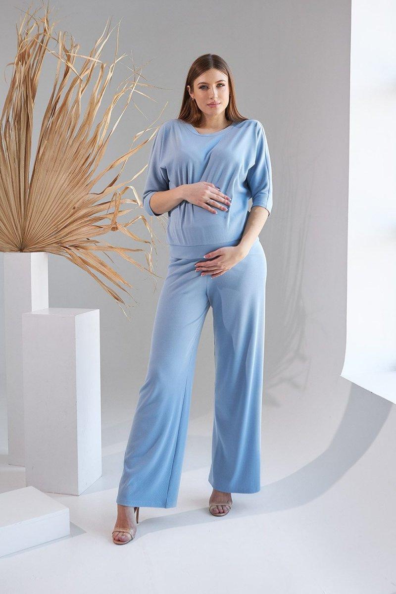 Костюм для беременных и кормящих 2159(9) 1530 голубой