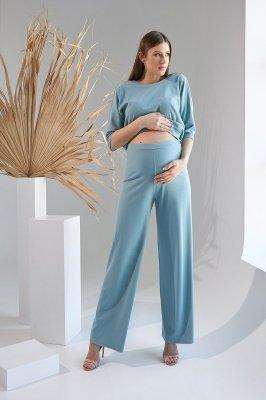 Штаны для беременных 2129 1531 голубой