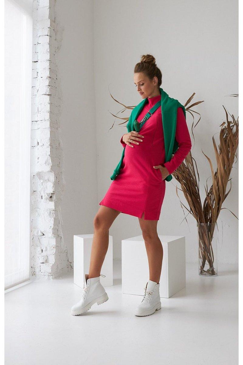 Платье для беременных и кормящих 2170 1563 малиновый
