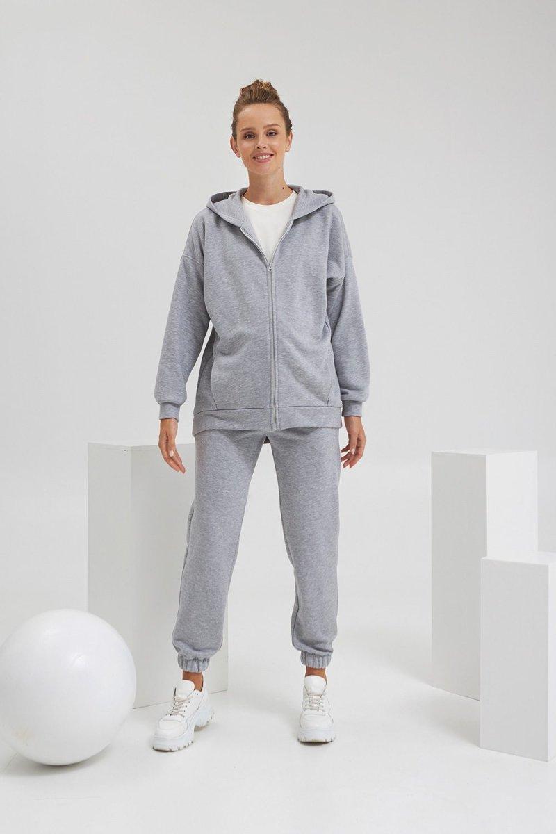 Спортивные брюки для беременных 2188 1061 серый