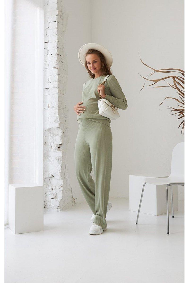 Костюм для беременных и кормящих 2184(6)-1565 фисташковый