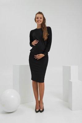 Кофта для вагітних і годуючих 2186 1566 чорний