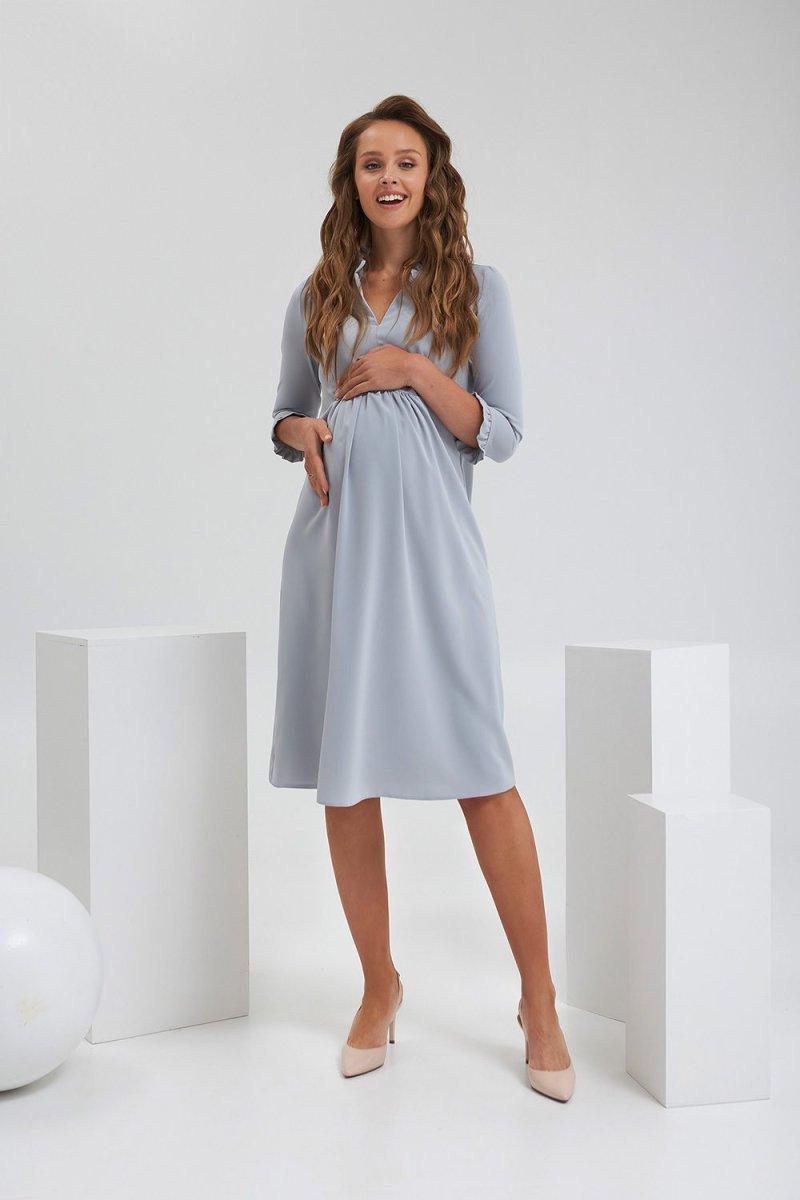 Платье для беременных и кормящих 2189 1567 серый