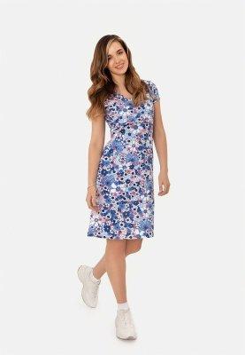 Платье для беременных и кормящих (blue)