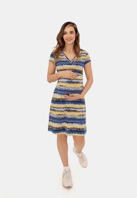 Платье для беременных и кормящих (waves)