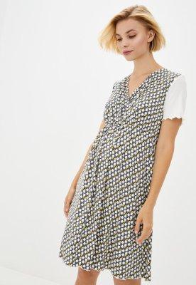 Сорочка домашняя для беременных и кормящих (grey)