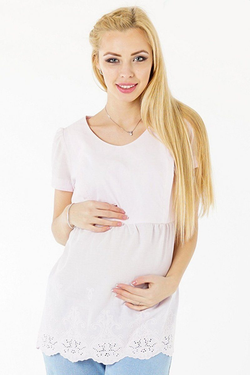 Блуза для беременных 3093074 розовый