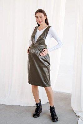 Сарафан для беременных 3145216 хаки