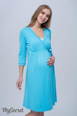 Халат для вагітних і годуючих мам Sinty блакитний