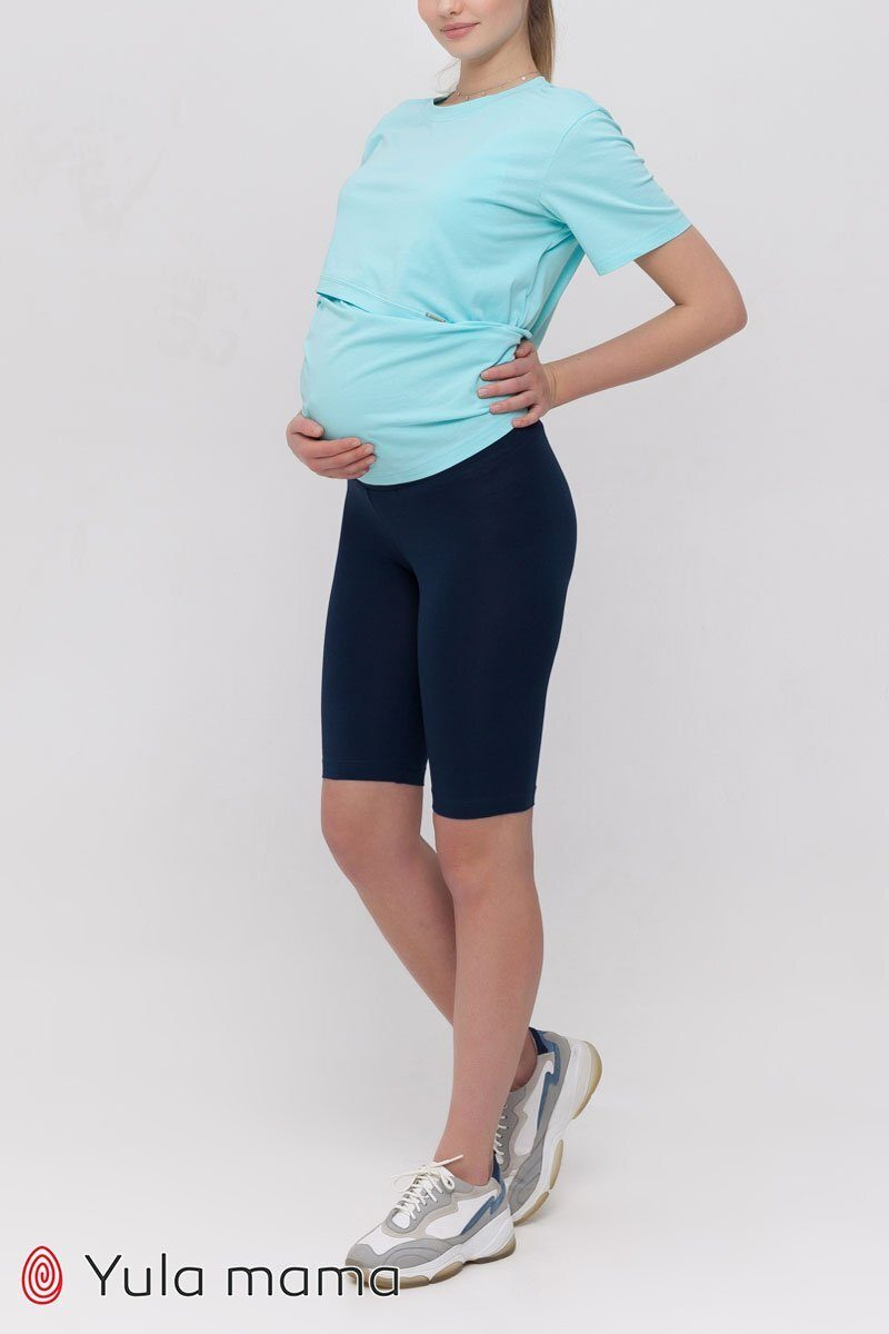 Велосипедки для беременных Joyce синий
