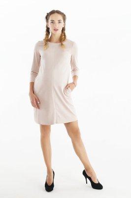 Платье для беременных 4038357 бежевый