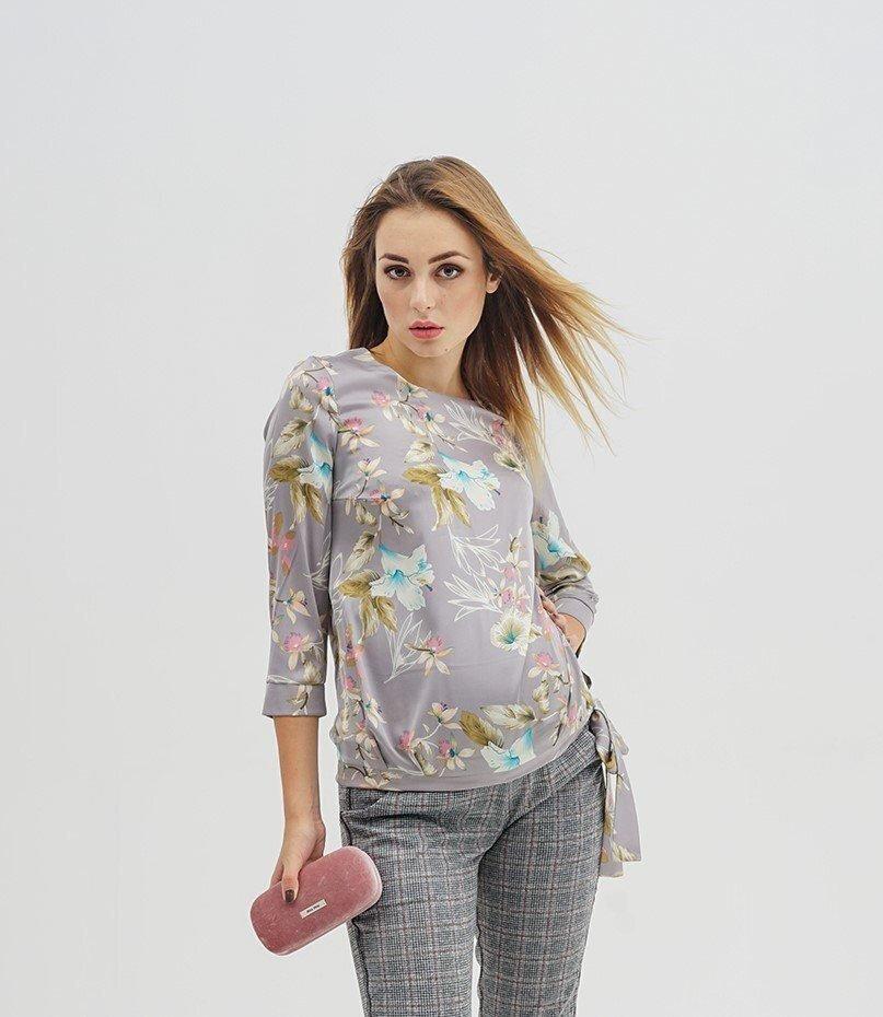 Блуза для беременных 4116374 серая