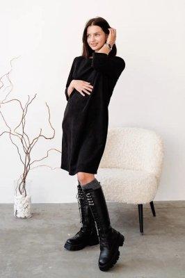 Сукня для вагітних і годуючих 4132140 чорна