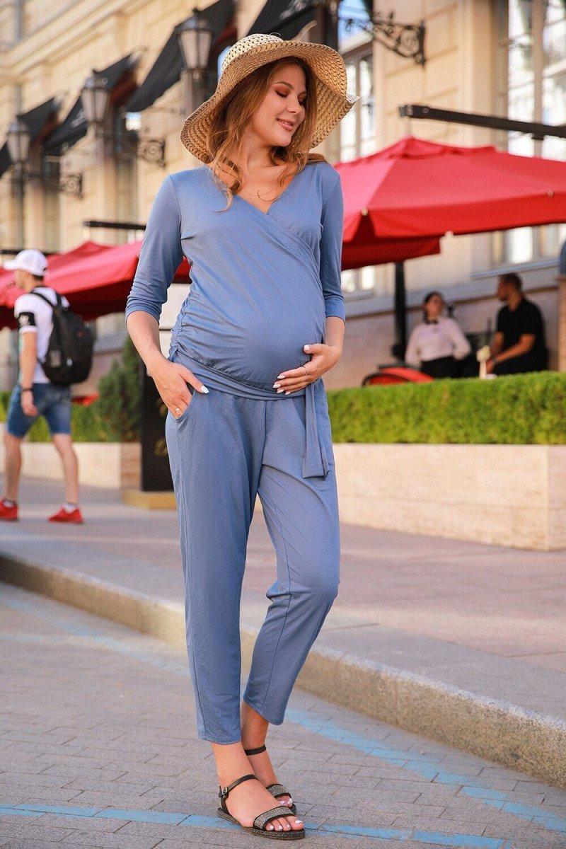Комбинезон для беременных 4157019 синий