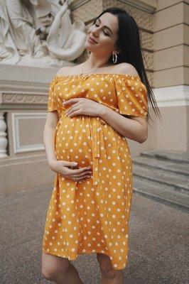 Платье для беременных 4169726 шафран sale