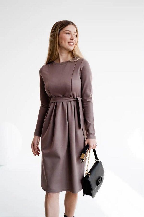 Сукня для вагітних і годуючих 4209044 мокко